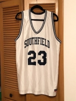 SOLD! ITEM#2-$50 Official Southfield High #23  Basketball Jersey   Don Alleson Brand   ​XL Size 46-48