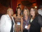 Heleen Klein '75, Stacy Friedman '75, Debbie Richie '75, Audrey Klegman '75 at Dick O'Dow's